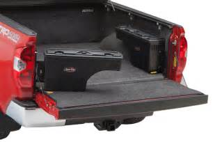 swing case swinging wheel well tool box swing box truck