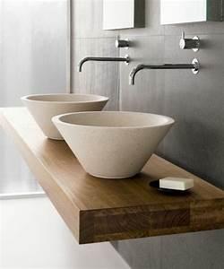 Waschtisch Aus Holz : 70 einmalige modelle von waschtisch aus holz ~ Michelbontemps.com Haus und Dekorationen