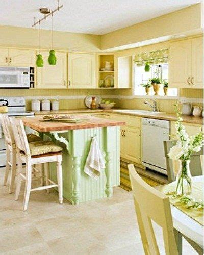 and yellow kitchen ideas yellow and green country style kitchen i the wall