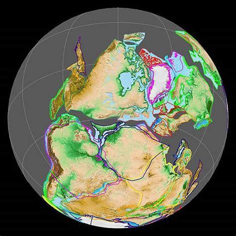 Pangaea (Pangea) - supercontinent | DinoAnimals.com