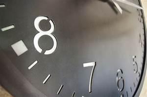 Grande Horloge Murale Design : horloge murale g ante indus style industriel en acier ~ Teatrodelosmanantiales.com Idées de Décoration