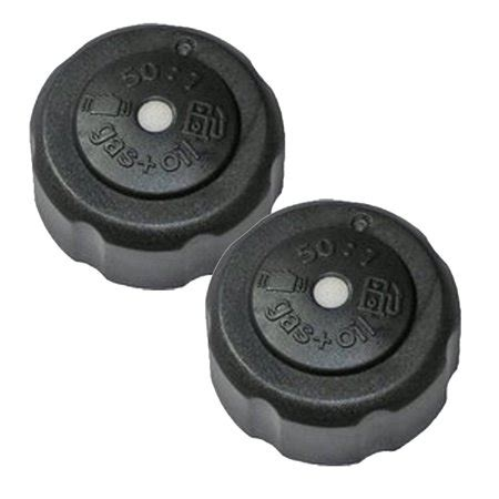 ryobi homelite trimmer 2 pack genuine oem replacement fuel cap 308680001 2pk walmart