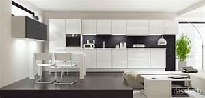 Hochglanz Weiß Küche : k che wei hochglanz u form ~ Michelbontemps.com Haus und Dekorationen