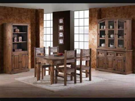 muebles de comedor rusticos modernos  muebles rusticos