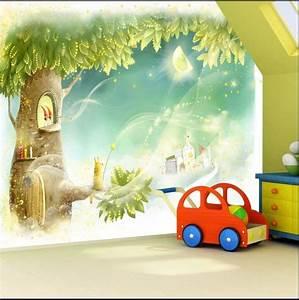 Fototapete Kinderzimmer Wald : hot custom home decoration large mural wallpaper 3d girly ~ Watch28wear.com Haus und Dekorationen