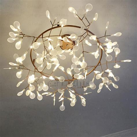 decorative light bulbs for chandeliers creative twig led decorative lights glowworm shaped 41 7