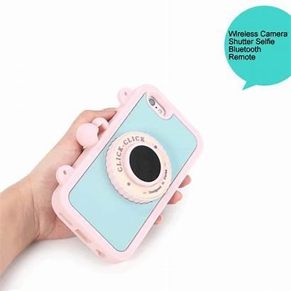 Iphone Plus Silicone Case Camera Selfie Soft