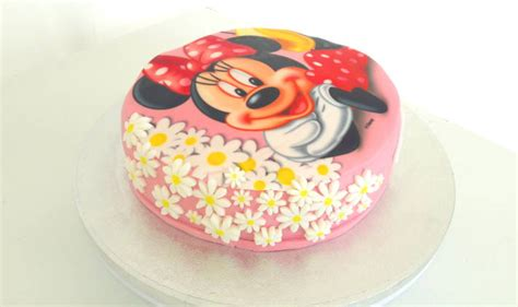 gateau minnie pate 224 sucre facile univers cake