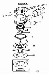 Craftsman 315116210 Power Sander Parts