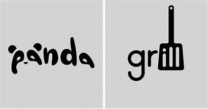 Designer Every Words Simple Logos Single Create