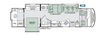Thor Class C Rv Floor Plans by Thor Class A Motorhomes Rv Models Specifications