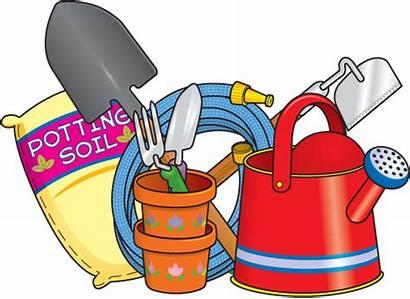 Gardening Clipart Spring Garden Supplies Growing Bing