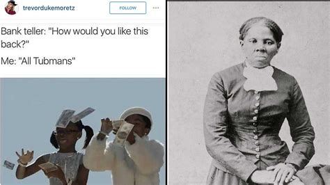 Harriet Tubman Memes - harriet tubman on the 20 dollar bill the best memes you need to see abc13 com