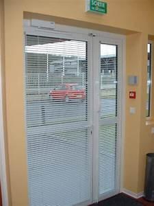 toutes les realisations d39ach menuiserie a avanches With porte de garage enroulable avec store venitien pour porte fenetre pvc