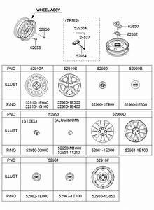 2007 Hyundai Accent Nut - Hub  Sep  Chassis