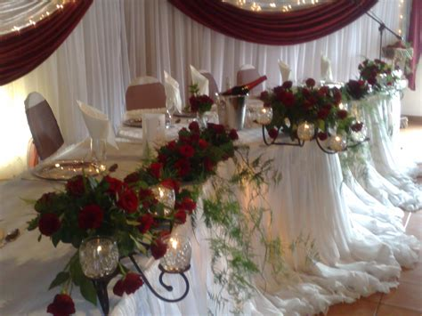 wedding main table decor main table decor halvorsenweddings