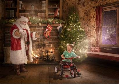 Christmas Project Sick Hospital Scenes Magical Santa