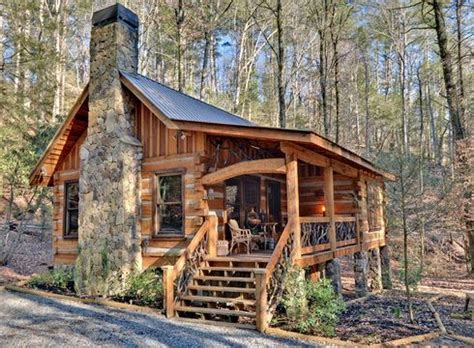 small log cabin simply serene