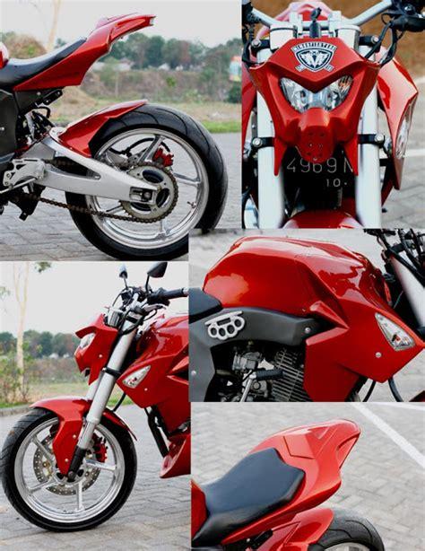 Gambar Modifikasi Motor Suprax125 by Modifikasi Honda Tiger Fighter