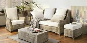 Salon Rotin Exterieur : meubles en rotin pour d coration int rieure ~ Teatrodelosmanantiales.com Idées de Décoration