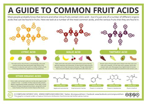 A Guide To Common Fruit Acids Compound Interest