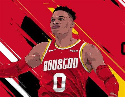 Animate Your Art Russell Westbrook On Behance