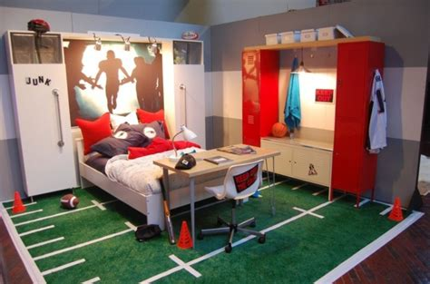 chambre de basket décoration chambre theme basket