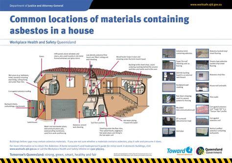 common locations  materials  asbestos  house