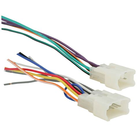 toyota car stereo cd player wiring harness wire adapter for a aftermarket radio ebay