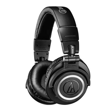 Audio-Technica ATH-M50xBT Bluetooth Over-Ear Headphones ...