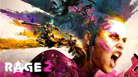 New Rage 2 Gameplay Shows Crazy Weapons, Wacky Vehicles