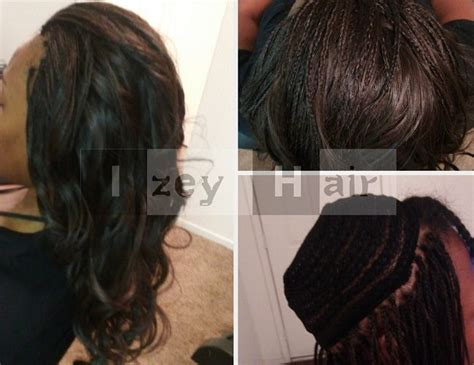 Part Weave And Part Micros With Brazilian Body Wave