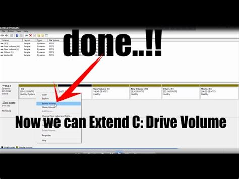 extend the size of c drive without any software tutorial windows 7 8 8 1 10