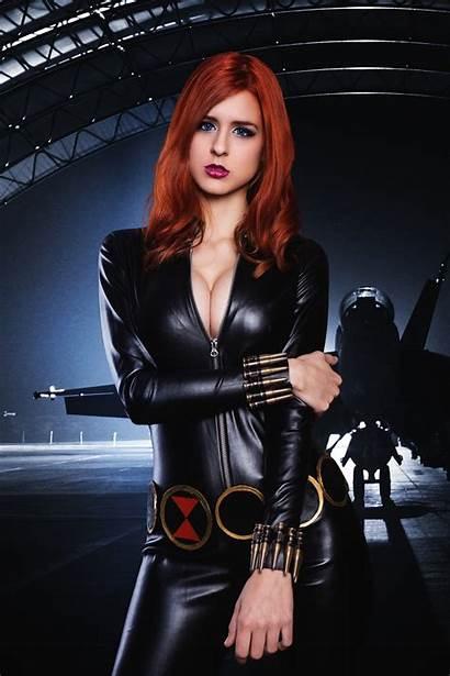 Widow Cosplay Headshot Juby Deviantart Jubyheadshot Avengers