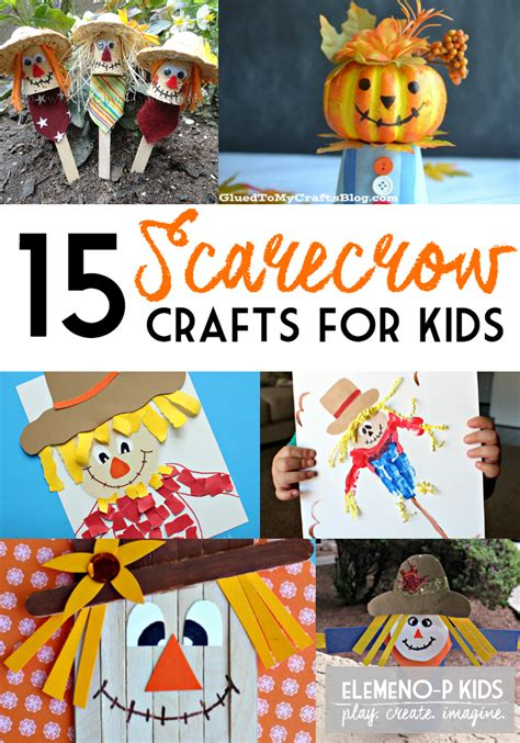 scarecrow crafts  kids