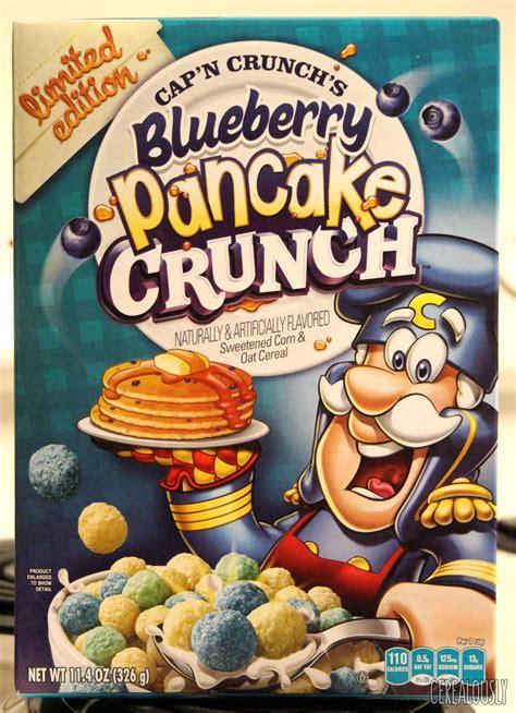 capn crunchs blueberry pancake crunch review
