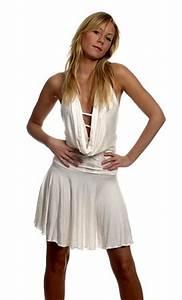 Elegant Cowl Neck Dress Short Dresses Neve Bianca