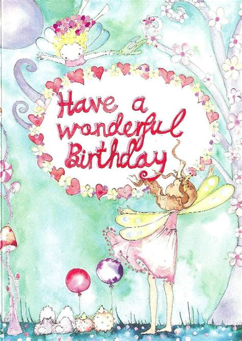 Birthday Card Image by A Wonderful Birthday Card By Caragh Buxton
