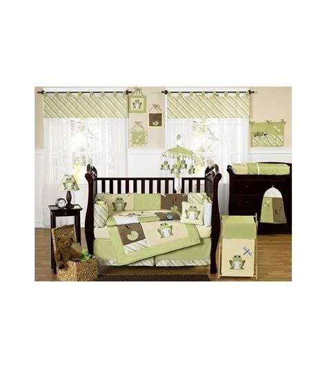 sweet jojo designs leap frog 9 piece crib bedding set