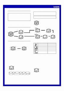 Casio Aqw101-1acf Operation Manual