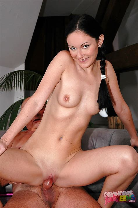 Lusty Teen Brunette With Pigtails Nita Tiger Gets Her