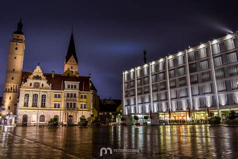 The municipal lies along two rivers, the danube and schutter. Ingolstadt by night - Peter Mocanu