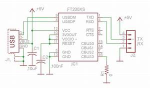 Usb To Serial Converter Using Ftdi Ft230x