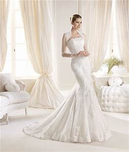 mermaid strapless tight fitting lace wedding dress with With tight fitted wedding dresses