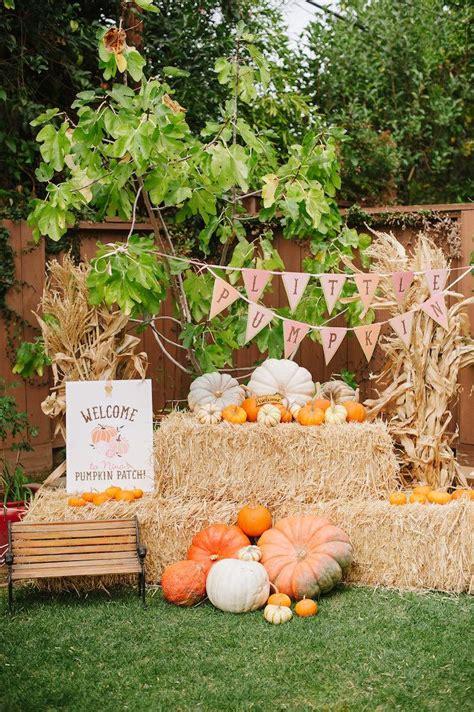 "Kara's Party Ideas ""Little Pumpkin"" Fall Picnic Birthday"