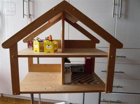 cuisine fabrication allemande vends maison en bois pour petites poupées