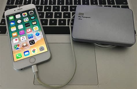 external drive for iphone how to backup iphone to external drive on mac