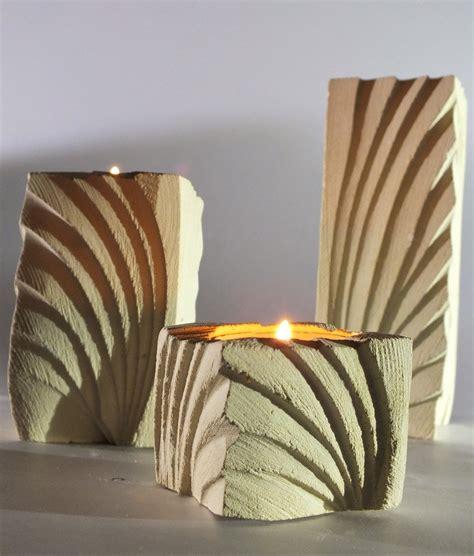 porta a ventaglio tris porta candele e fiori in pietra leccese ventaglio