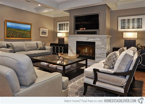 living room with tv and fireplace 15 modern day living room tv ideas home design lover Modern
