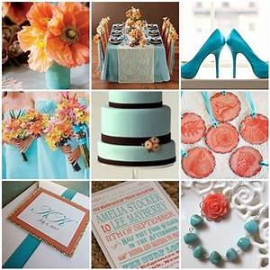 Blue coral wedding ideas weddings pinterest for Coral and turquoise wedding ideas